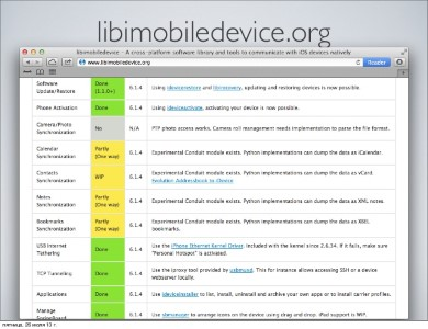 restore custom IPSW with libimobiledevice