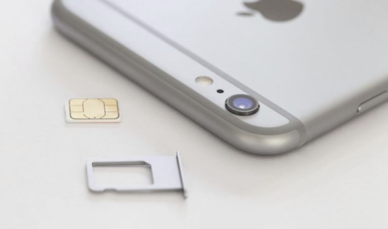 iPhone SIM card