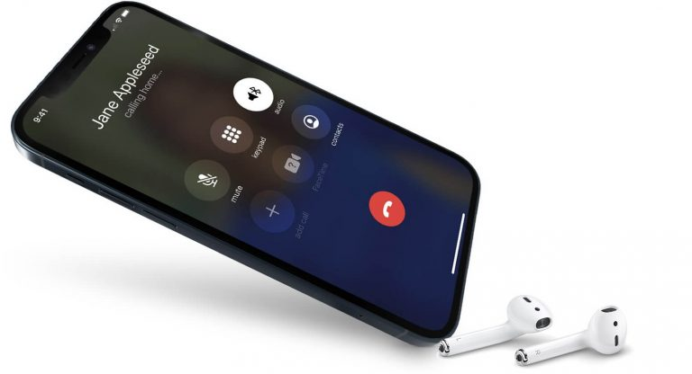 iPhone calling contacts