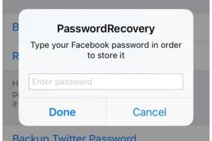 PasswordRecovery tweak