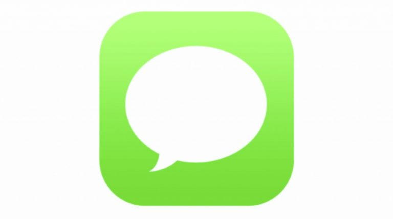 iPhone text Message app