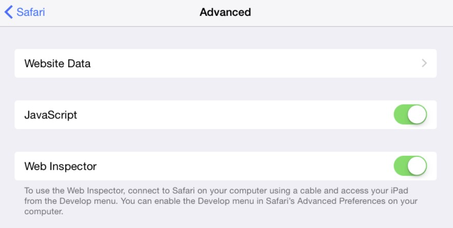 Safari Javascript