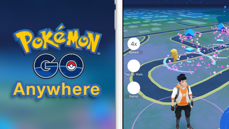 PokemonGoAnywhere tweak hack