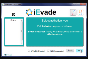 ievade ios 9/8 activation gratuit
