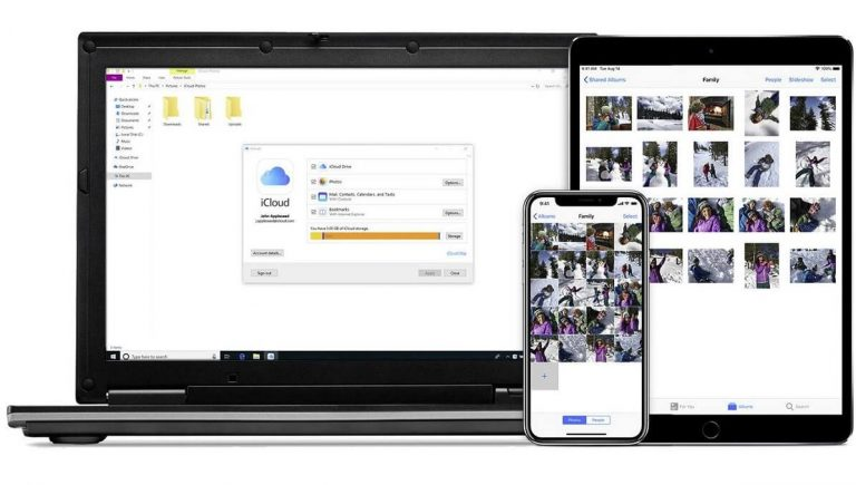 iOS devices on Windows