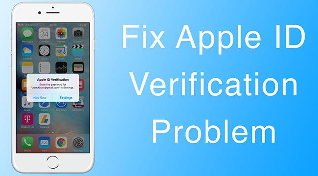 Apple ID server verification