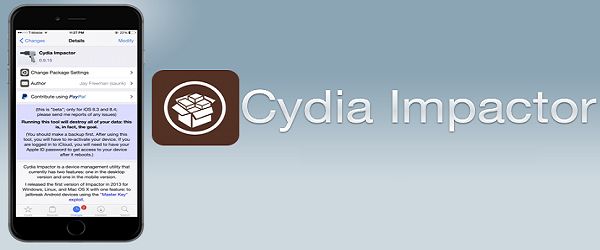 cydia impactor iphone