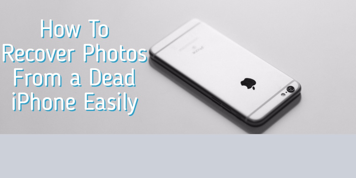 Recover photos from a broken iphone
