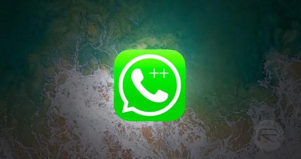 WhatsApp++ for iOS 11