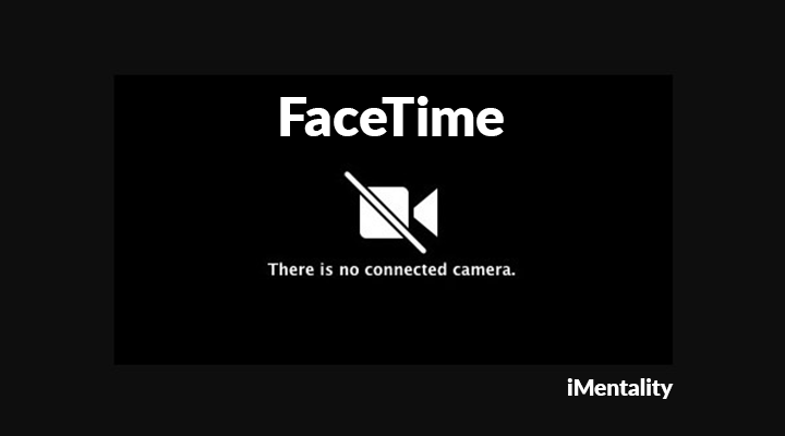 facetime camera not working