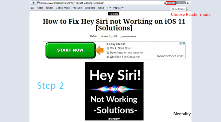 saving web page as a pdf