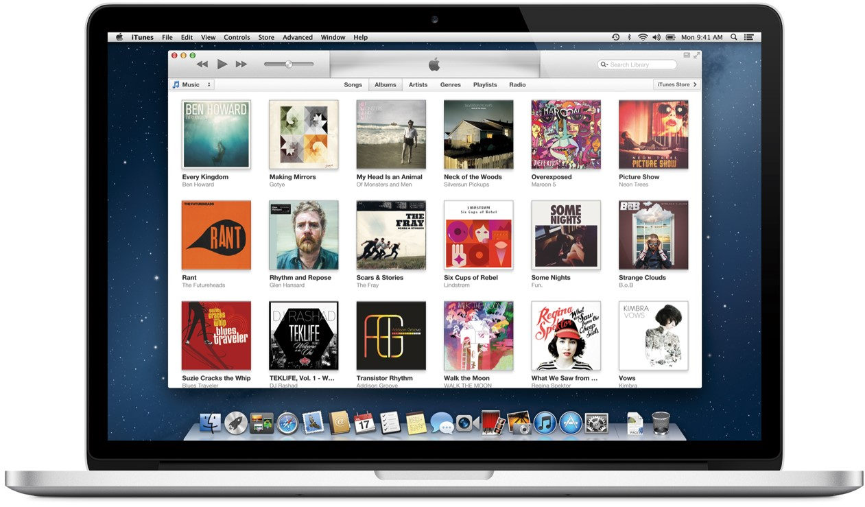 iTunes CD configuration folder error