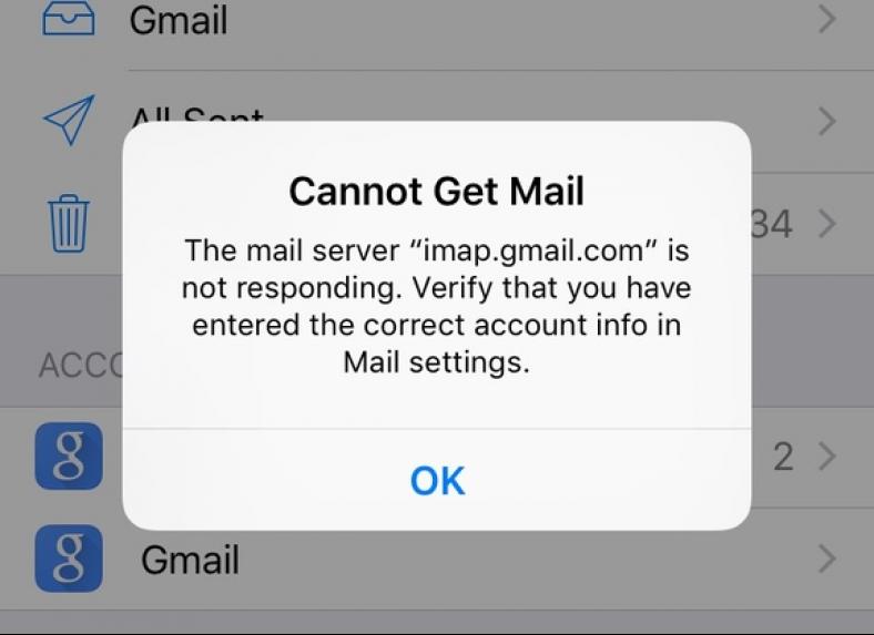 smtp.gmail.com issues fix