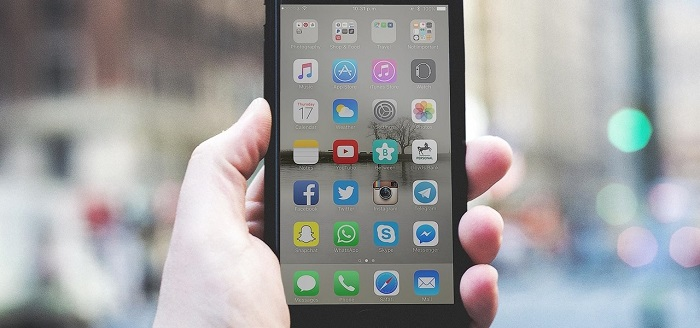 Organize iOS apps