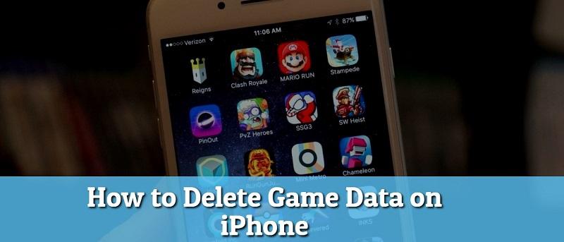 delete game data ios