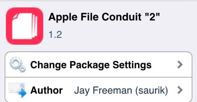 Apple File Conduit 2 for iOS 11