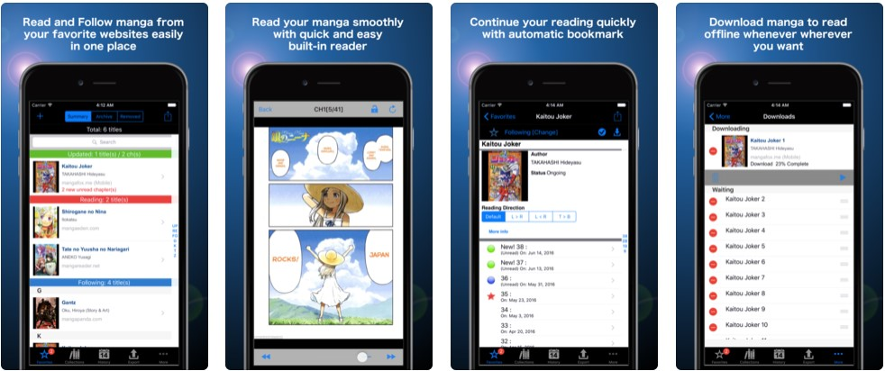 Manga Storm app
