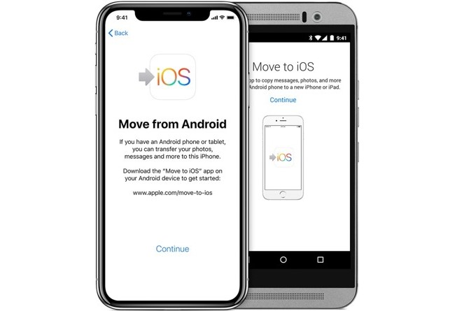 Android to iOS data transfer apps