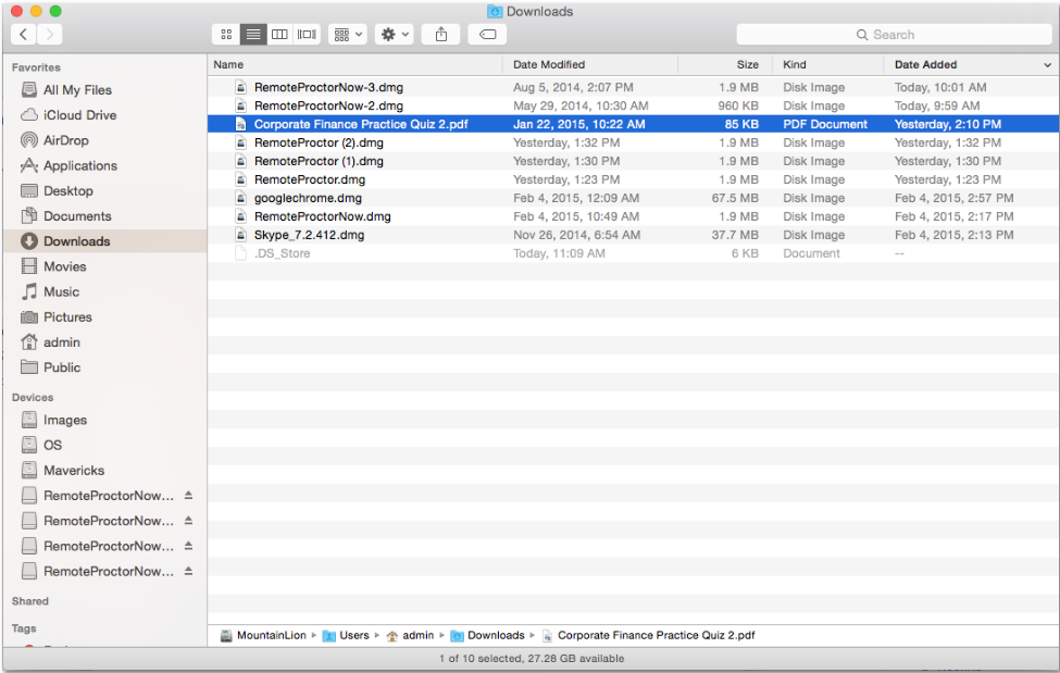How to find recent downloads on Mac - iMentality